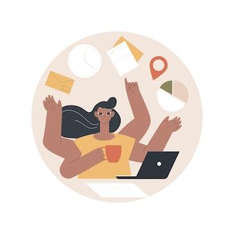 Productivity illustration