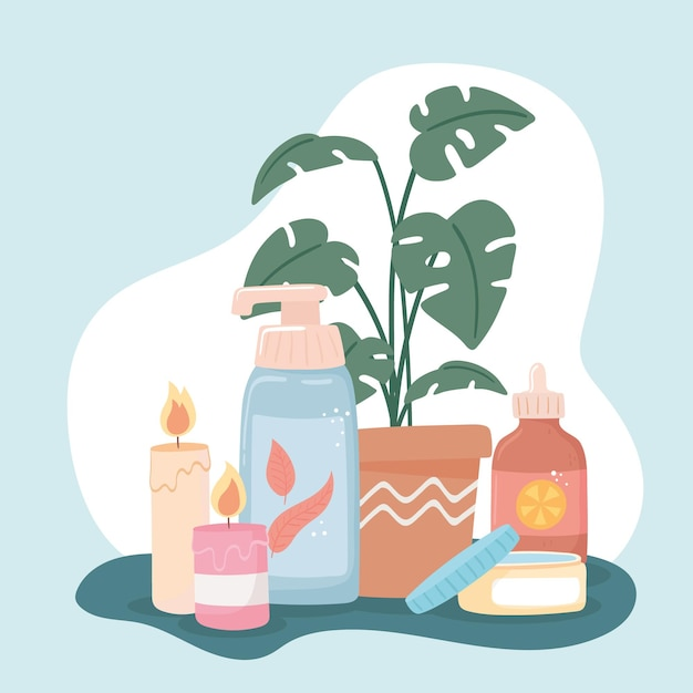 Products care routine moisturizing