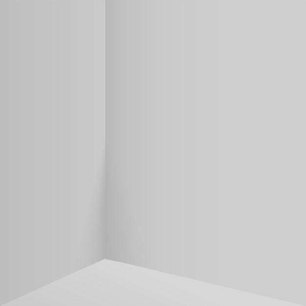 製品は、白い形の幾何学的なプラットフォームで3d背景表彰台シーンを表示します。ベクトルイラスト