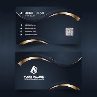 Profession business card
