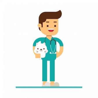 Profession veterinarian