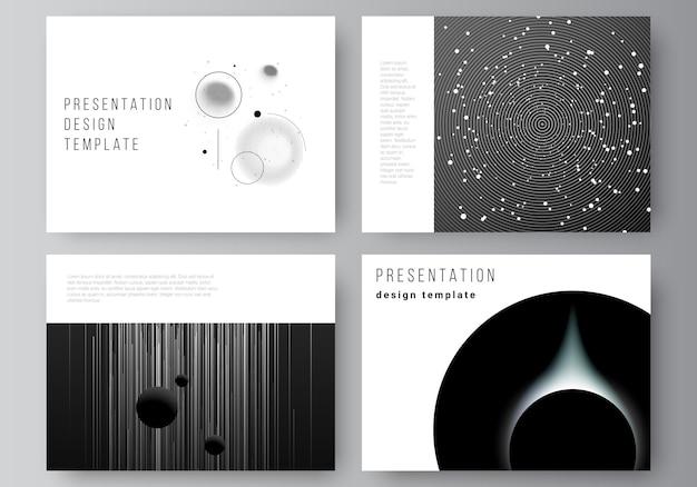 プロの天文学プレゼンテーションデザインテンプレート