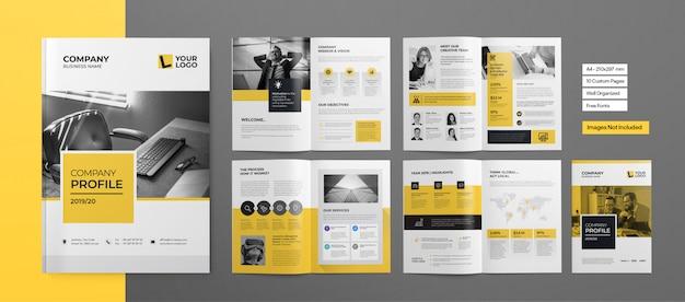 Профессиональный буклет или бизнес презентация