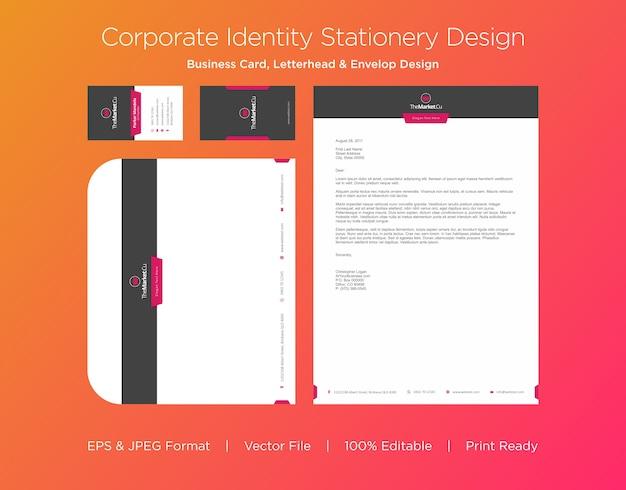 Профессиональный дизайн визитной карточки, бланков и конвертов