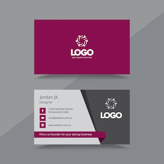 Professional business card and letterhead design