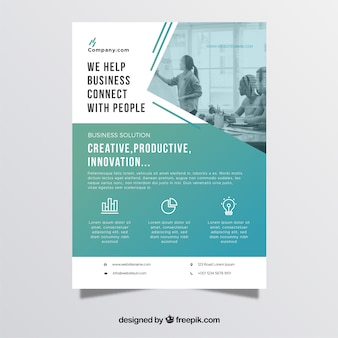 informational poster template top informational poster