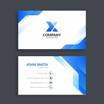 Professional creative corporate business card