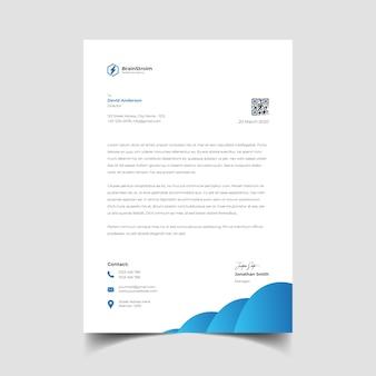 Professional creative letterhead template