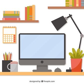 Профессиональный письменный стол с современным стилем