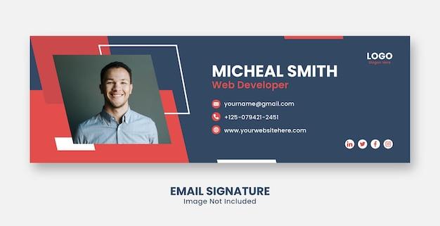 Профессиональные шаблоны подписи электронной почты