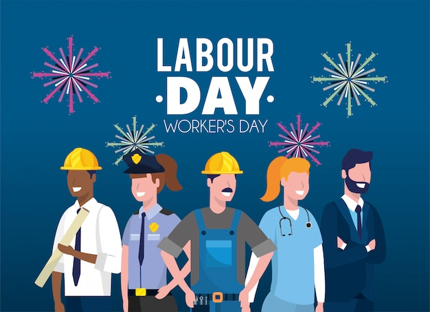 Professional employers to labour day celebration