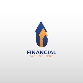 전문 금융 벡터 로고 템플릿 eps.10은 금융에 종사하는 회사에 적합합니다.