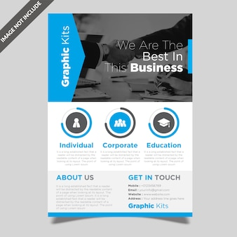 Professional flyer template