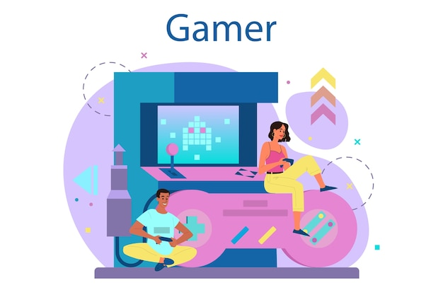 Концепция профессионального геймера