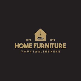 전문 가정용 가구 로고 디자인