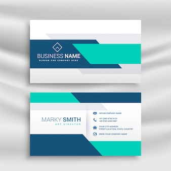 Professional medical style business card