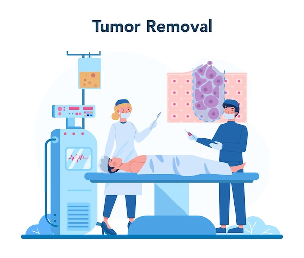 전문 종양 전문의 개념