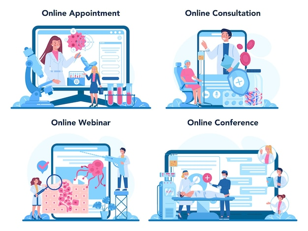 Онлайн-сервис или платформа профессионального онколога