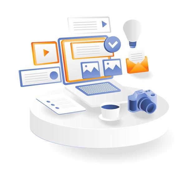전문적인 사진 관리 및 소셜 미디어 마케팅