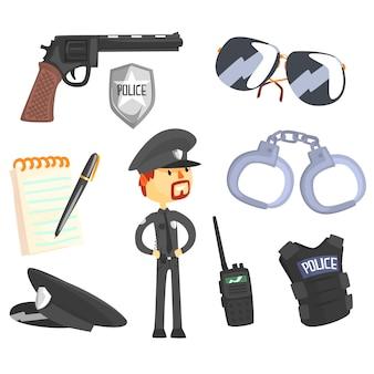 Профессиональный полицейский и его инструменты