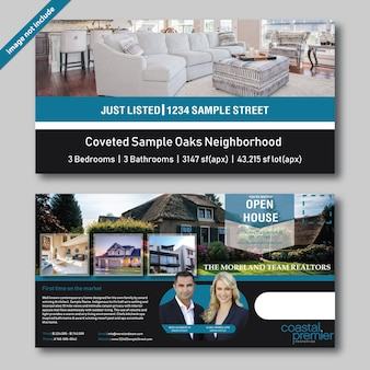 Professional real estate brochure