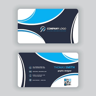 Professional visit card