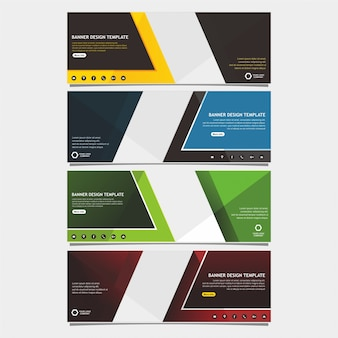Professional web banner template