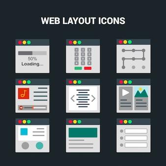 Значок профессионального веб-дизайна