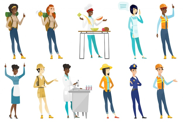 Professional women set