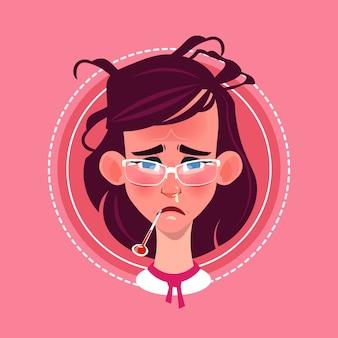 Profile Icon Female Emotion Avatar