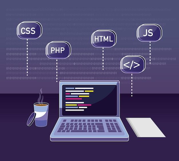 Program coding concept