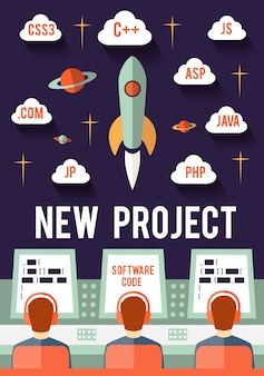 Programmers are launching new web or app startup project