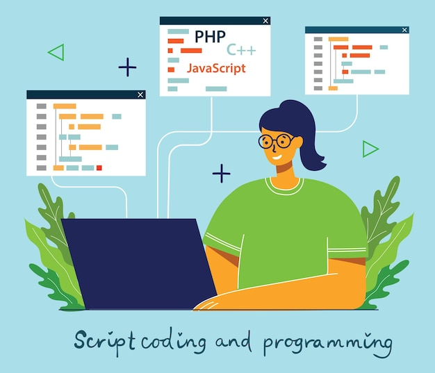 プログラミングとコーディング、ウェブサイト開発