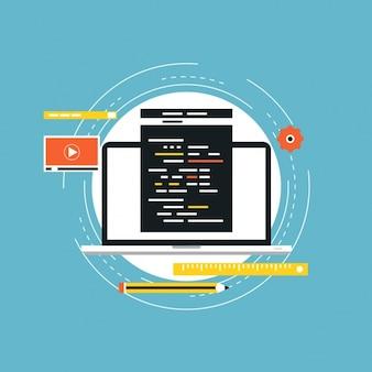 Programming background design