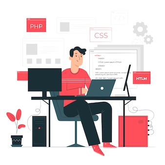 Programming concept illustration