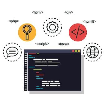 Programming languages set icons