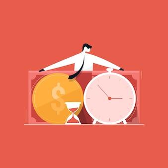 プロジェクトのコストと時間の管理