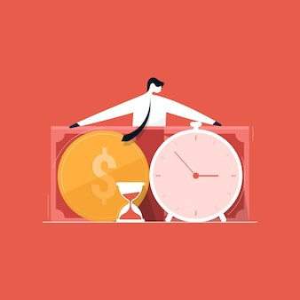 Project cost and time management