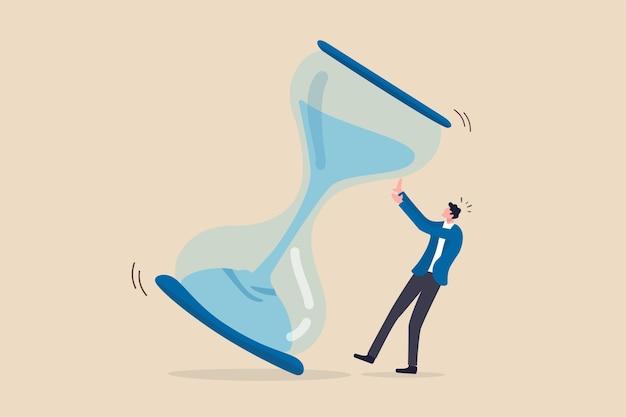 Срок выполнения проекта, нехватка времени или концепция управления временем