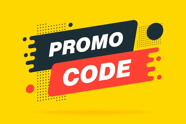 Promo code, sale banner