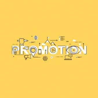 Promotion background design