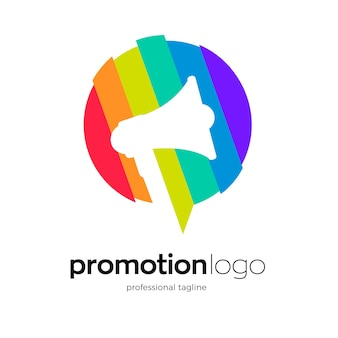 Promotion logo template