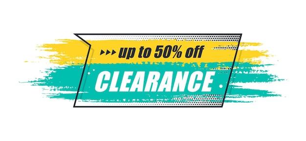 Promotion original banner, sales background, price tag. vector illustration