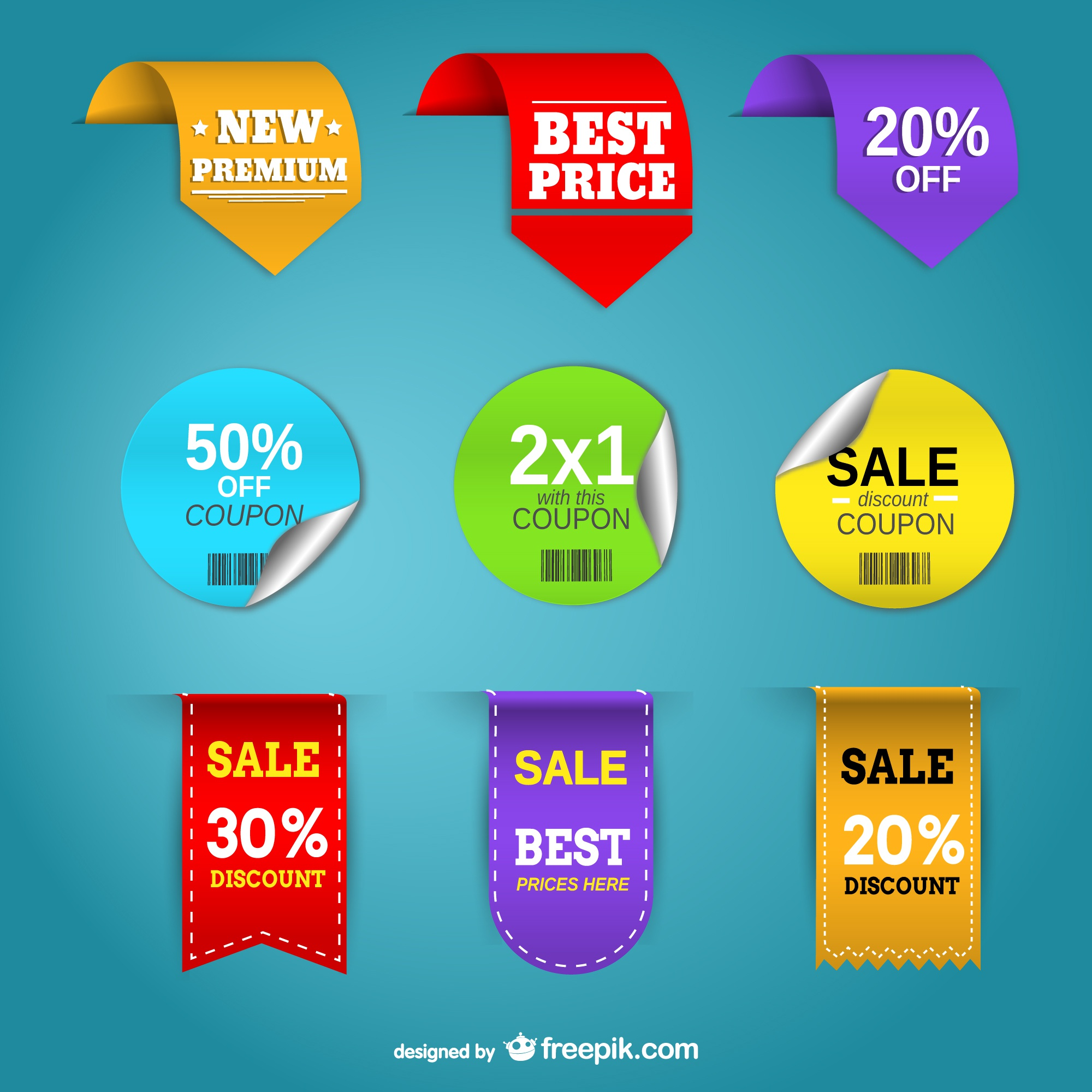 Promotion price labels