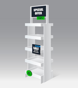 Promotion shelf realistic
