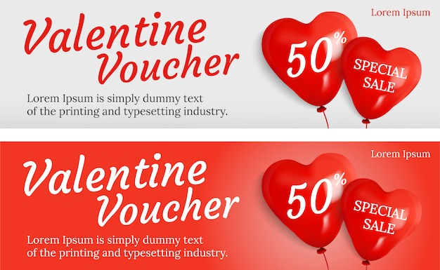 Promotion for valentine' day