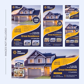Promotional and business flyer template