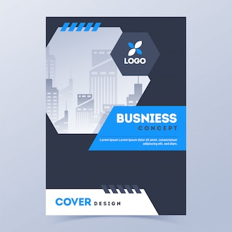 Promotional cover page template.