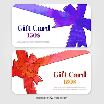 Promotional gift card
