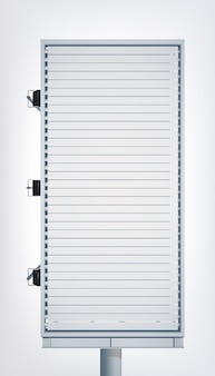 Рекламный световой вертикальный рекламный щит